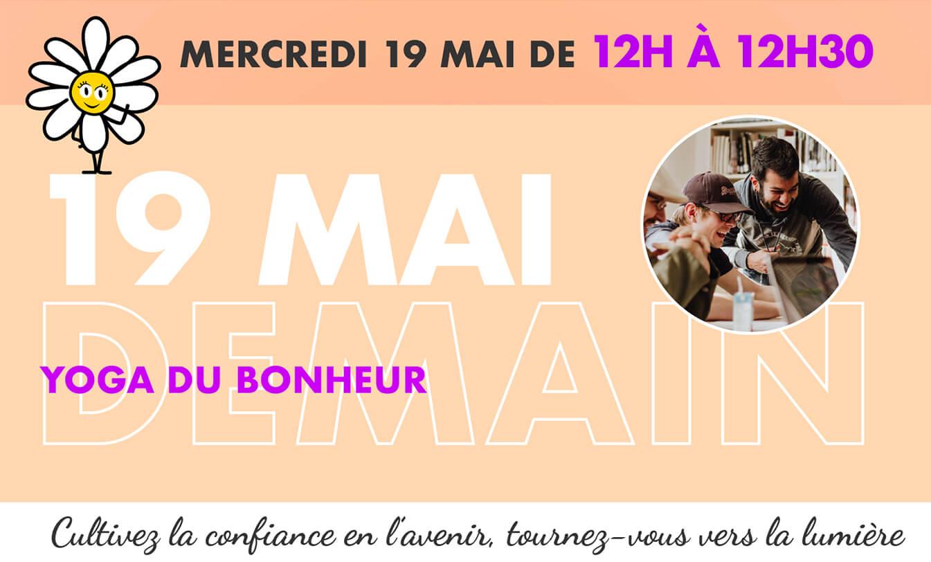 Festival des énergies positives - mercredi 19 mai